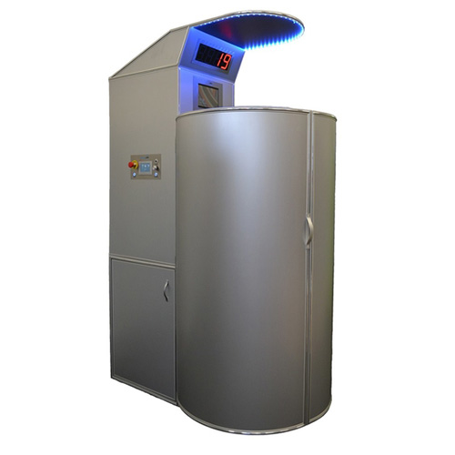 Image of the Cryosauna