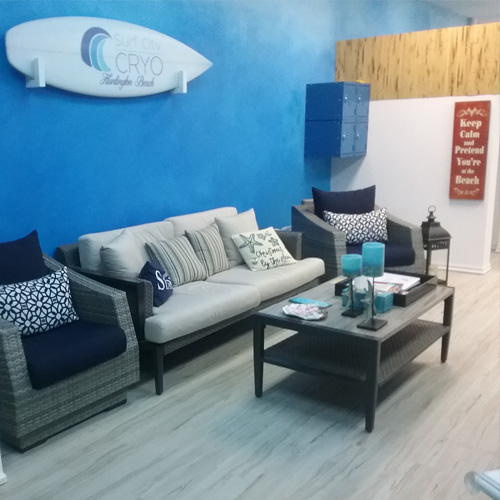 Image of Surf City Cryo reception area